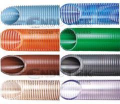 Tubos e mangueiras de plastico