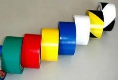 Fitas adesivas em PVC