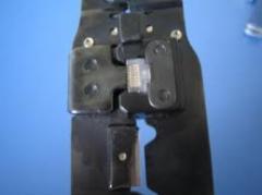 A ferramenta mecânica para cortar cabo