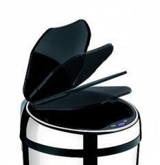 Lixeira Inox Automática 6 Litros com Balde
