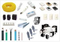Instalações eléctricas para pendurar lâmpadas