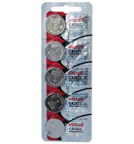 Bateria de lítio CR2032 c/ 5 unidades