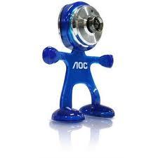 Webcam AOC robô 3,5 mega pixels usb