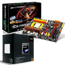 Kit processador AMD Phenom II X4 965 BE + placa