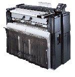 KM-4850w sistema de imagens com formato grande