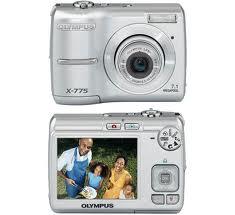 Câmera digital 7.1 MP X-775 da Olympus