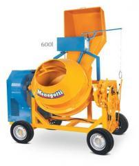 Betoneira Bimotor 600L