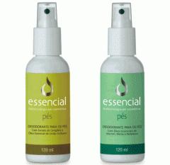 Desodorantes para os Pés 120 ml Spray. Higieniza e