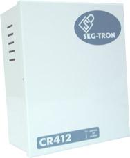 Central de alarme CR412, com discador