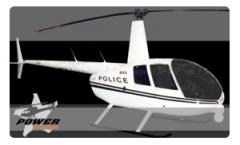 Helicoptero Robinson R44 Police Helicopter