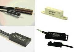 Sensores magnéticos.
