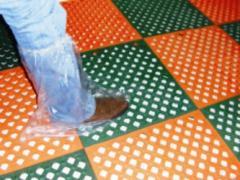 Botas plásticas descartáveis
