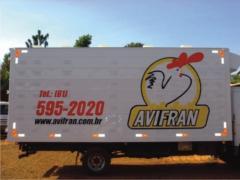 Furgão de Alumínio Aletado para Transporte de