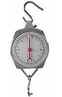 Balança com visor tipo relógio