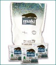 Isca raticida em grãos Maki® GR-Tech