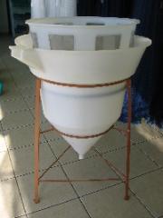 Incubadora para ovos de peixe