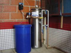 Sistemas para cloraçao e polimento