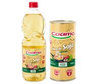 Óleo de soja refinado Coamo.
