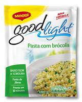 Pasta com brócolis