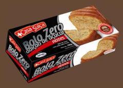 Bolo Zero Adição de Açúcar sabor Nozes