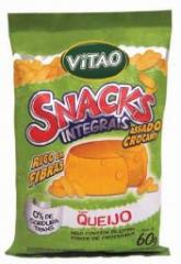 Snacks Integrais sabor Queijo