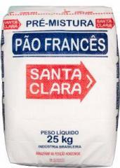 Pré-mistura 25 kg p/ Pão Francês - Santa Clara