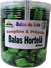 Balas Gengibre e Própolis