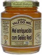 Mel com Geléia Real