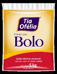 Mistura p/ Bolo Tia Ofélia - Sabores 5kg