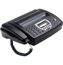 Fax e telefones
