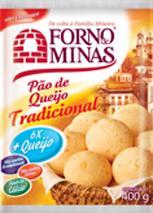 Pao de Queijo Tradicional - 400 g - Forno de Minas