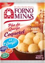 Pao de Queijo Coquetel - 400g - Forno de Minas