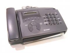 Aparelho de fax, Sharp