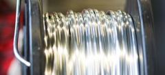 Fios de aluminio