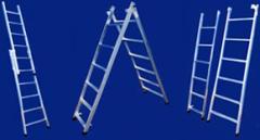 Escada de dupla função