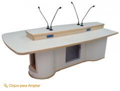 Mesa para Locução