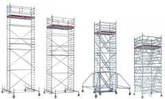 Torres Móveis e Escadas