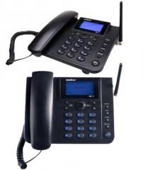 Telefone Celular Fixo De Mesa Crc 10 Preto
