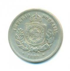 Moeda Brasil 100 Réis