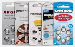 Pilhas para aparelhos auditivios
