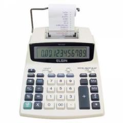 Calculadora compacta de mesa com 12 dígitos ELGIN