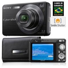 Câmera Digital 7.2 MP DSC-W125 Sony c/ Zoom Óptico