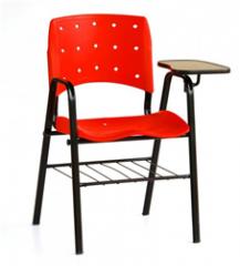 Cadeira fixa polipropileno escamoteável