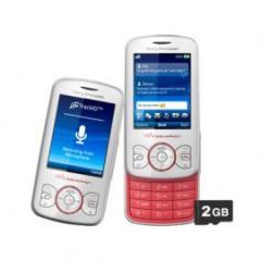 Celular Sony Ericsson W100 Walkman Rosa