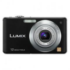 "Câmera Digital Preta FS12 12.1MP LCD 2,7"""
