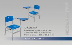 Cadeiras para escola