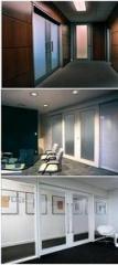 Divisórias piso-teto