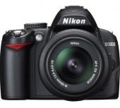 Nikon Câmera Digital SLR D3000 com Lente VR de