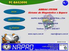 Unidade Comando do Sistema de Airbag