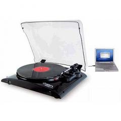 Toca-Discos Vinil com conversаo para o formato MP3